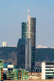 High-rise de bouw. Vilnius. Litouwen. Royalty-vrije Stock Foto's