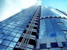 High-rise die 2 bouwt Royalty-vrije Stock Afbeeldingen