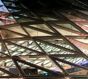 High rise dome, designer background. For artists stock image