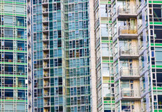 High rise facade Royalty Free Stock Image