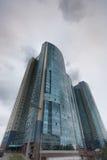 High-rise flatgebouw Royalty-vrije Stock Afbeeldingen