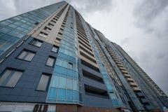 High-rise flatgebouw Stock Foto