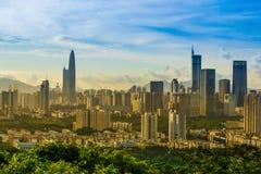 High-rise gebouwen Stock Foto's