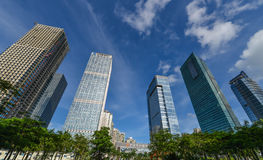 High-rise gebouwen Royalty-vrije Stock Afbeeldingen