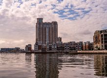 High Rise on the Harbor royalty free stock images