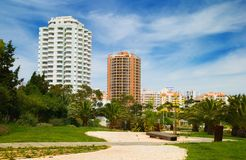 High Rise Hotels Royalty Free Stock Photo