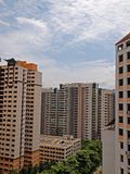 High Rise Housing Royalty Free Stock Images
