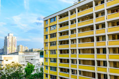 High Rise Housing. HDB high rise housing in singapore Royalty Free Stock Photo
