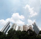 High rise luxurious condominium Stock Image