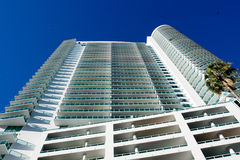 High Rise Miami Building Royalty Free Stock Photography