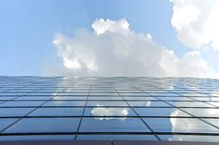 High Rise mirroring Royalty Free Stock Photography