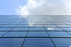 High Rise mirroring to the sky Stock Image