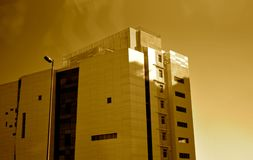 Modern stylish architectural building - stock photo stock photo