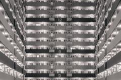 High rise modern building pattern Stock Photos