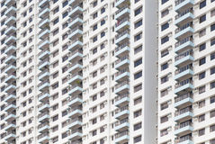 High rise modern building pattern and background Stock Images