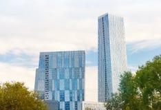 High-rise modern buildings Stock Photo
