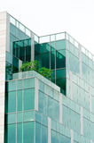 High Rise Office Building. A High Rise Office Building with Open Air Greenery to Improve the Environment Quality of Workplace Stock Photo