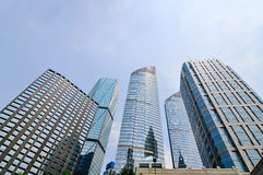 High-rise office building. Image of High-rise office building in beijing, china royalty free stock photography