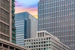 High rise office building at city business area Stock Photos