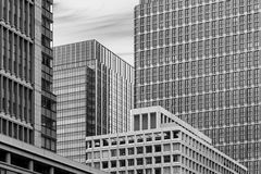 High rise office building stock photography