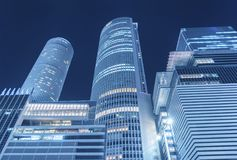 High rise office building. In Nagoya City, Japan royalty free stock images