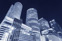 High rise office building in Japan. High rise office building in Nagoya City, Japan stock photography