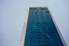 High Rise Office Building in Singapore. Tall office building shot against the sky in singapore Royalty Free Stock Photos