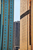 High rise office buildings Stock Image