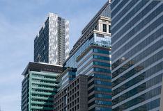 High-rise office buildings in Bangkok Stock Image