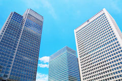 High rise office buildings Royalty Free Stock Photo
