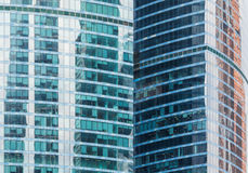 High-rise office buildings Stock Photography