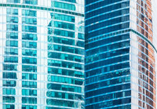High-rise office buildings Royalty Free Stock Photography