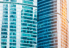 High-rise office buildings Royalty Free Stock Photos