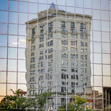 High Rise Reflection Royalty Free Stock Photos