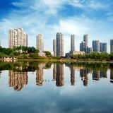 High-rise residential Royalty Free Stock Images
