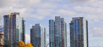 High rise residential Stock Images
