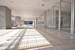 High rise residential apartment entrance Stock Photos