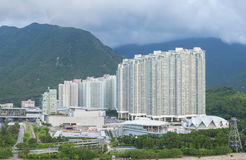High rise residential building Royalty Free Stock Photo