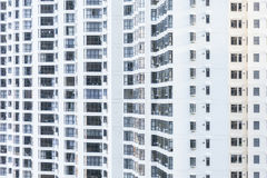 High rise residential building Royalty Free Stock Images