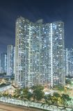 High rise residential building in Hong Kong city Royalty Free Stock Image