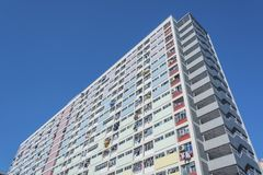 High rise Residential building in Hong Kong city Royalty Free Stock Photos