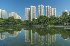 High rise residential building in Hong Kong Royalty Free Stock Photo