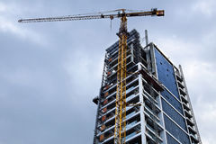 High Rise Construction Stock Photo