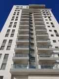 High-rise residential building ready for populating Royalty Free Stock Images
