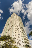 High-rise residential building Vedado Havana Stock Photography