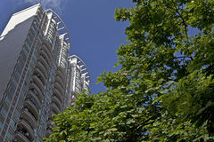 High rise residential buildings Stock Image