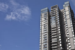 High rise residential buildings Royalty Free Stock Photos