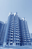 High rise residential buildings in a city Stock Image