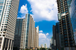 High rise residential buildings Royalty Free Stock Photo