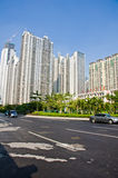High rise residential buildings Stock Photo